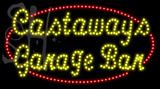 Custom Castaways Garage Bar Led Sign 3