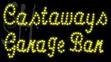 Custom Castaways Garage Bar Led Sign 4