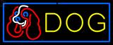 Custom Dog With Logo LED Neon Sign 1