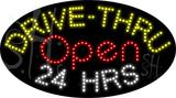 custom drive thru open 24 hrs led sign 3