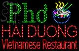 Custom Pho Noodle Bowl Hai Duong Led Sign 4