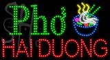 Custom Pho Noodle Bowl Hai Duong Led Sign 6