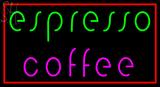 Custom Espresso Coffee LED Neon Sign 1
