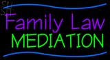 Custom Family Law Mediation LED Neon Sign 1