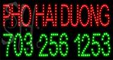 Custom Hai Duong With Phone No Led Sign 2
