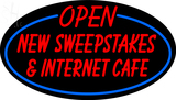 Custom Open New Sweepstakes LED Neon Sign 1