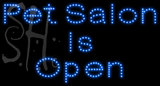 Custom Pet Salon Is Open Led Sign 4