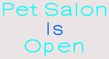 Custom Pet Salon Is Open LED Neon Sign 2