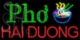 Custom Pho Noodle Bowl Hai Duong Led Sign 3