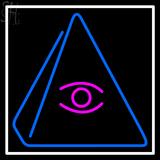 Custom Psychic Eye Pyramid LED Neon Sign 1