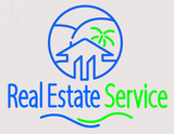 Custom Real Estate Service LED Neon Sign 2