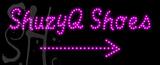 Custom Shuzyq Shoes With Arrow Led Sign 7