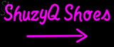 Custom Shuzyq Shoes With Arrow LED Neon Sign 1
