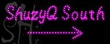 Custom Shuzyq South Led Sign 1