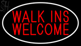 Custom Walks In Welcome Neon Sign 1