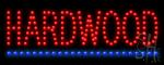 Hardwood Led Sign