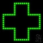 Cross Logo Led Sign