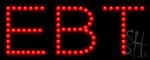Ebt Led Sign