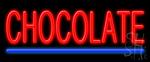 Chocolate Neon Sign