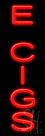 E Cigs Neon Sign
