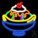 Sundae Logo Neon Sign
