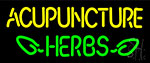 Acupuncture Herbs LED Neon Sign