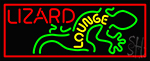 Lizard Lounge LED Neon Sign