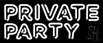 Private Party Neon Sign