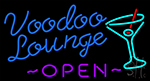 Voodoo Lounge Open Neon Sign
