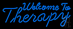 Welcome To Therapy LED Neon Sign