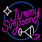 Jimmy Simpson LED Neon Sign