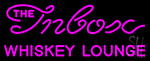 The Inbox Whiskey Lounge Neon Sign