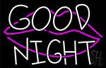 Cool Cute Fashion Good Night LED Neon Sign