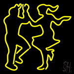 Dance Girl And Boys Neon Sign
