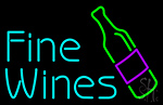 Fine Wines Neon Sign