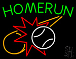 Home Run LED Neon Sign