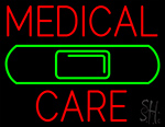 Medical Care Band Aid LED Neon Sign