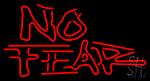 No Fear Logo LED Neon Sign