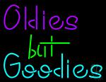 Oldies But Goodies Neon Sign