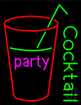 Party Cock Tail Neon Sign