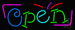 Party Open Neon Sign