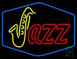Saxophone Jass Neon Sign