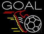 Soccer Goal LED Neon Sign