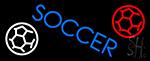 Soccer LED Neon Sign