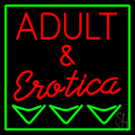 Adult And Erotica LED Neon Sign