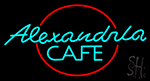 Alexandra Cafe Neon Sign