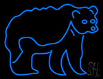 Grizzly Bear LED Neon Sign