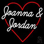 Joanna And Jordan Neon Sign
