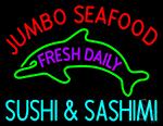 Jumbo Seafood Fresh Daily Neon Sign