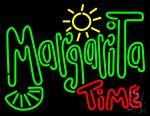 Margarita Time Neon Sign